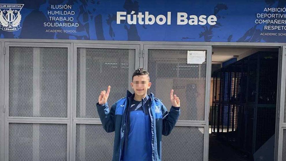 José Antonio Reyes López, en las oficinas del fútbol base del...