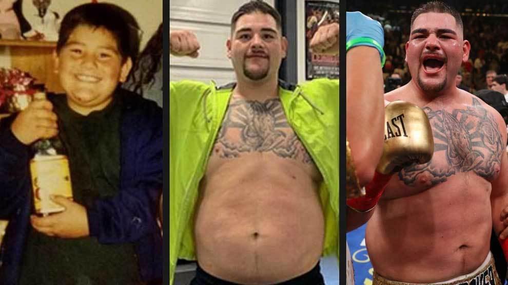 Andy Ruiz, el boxeador mexicano que se ha proclamado campeón del...