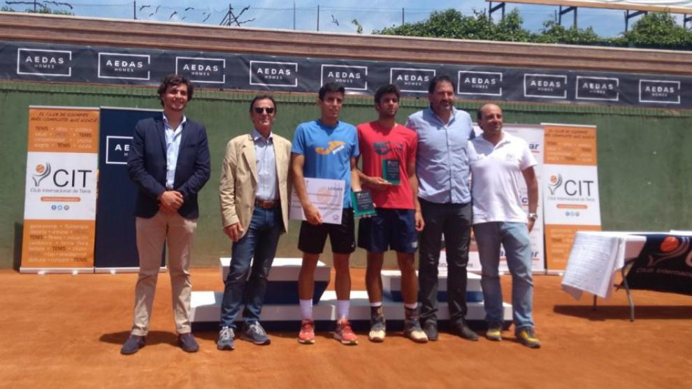 Entrega de premios en el Club Internacional de Tenis