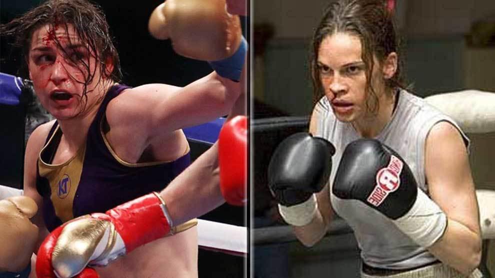 La boxeadora irlandesa