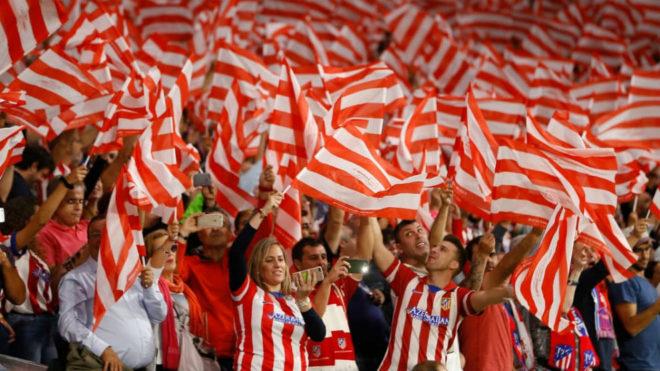 Afición Atlético de Madrid