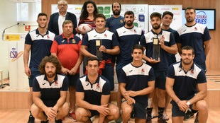 Acto de presentación de las España Seven Series en la sede del...