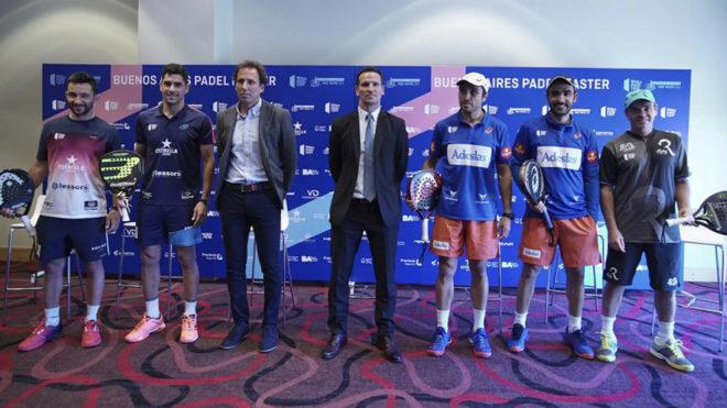 Presentación del Buenos Aires Padel Master 2019 en la capital...