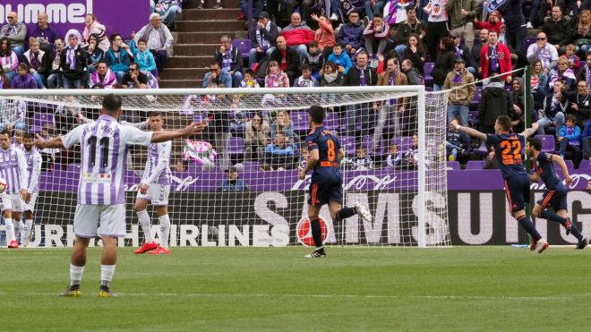 Los dos goles sospechosos que validaron la apuesta amañada del Valladolid -...