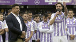 Borja y Ronaldo se citaron en Madrid