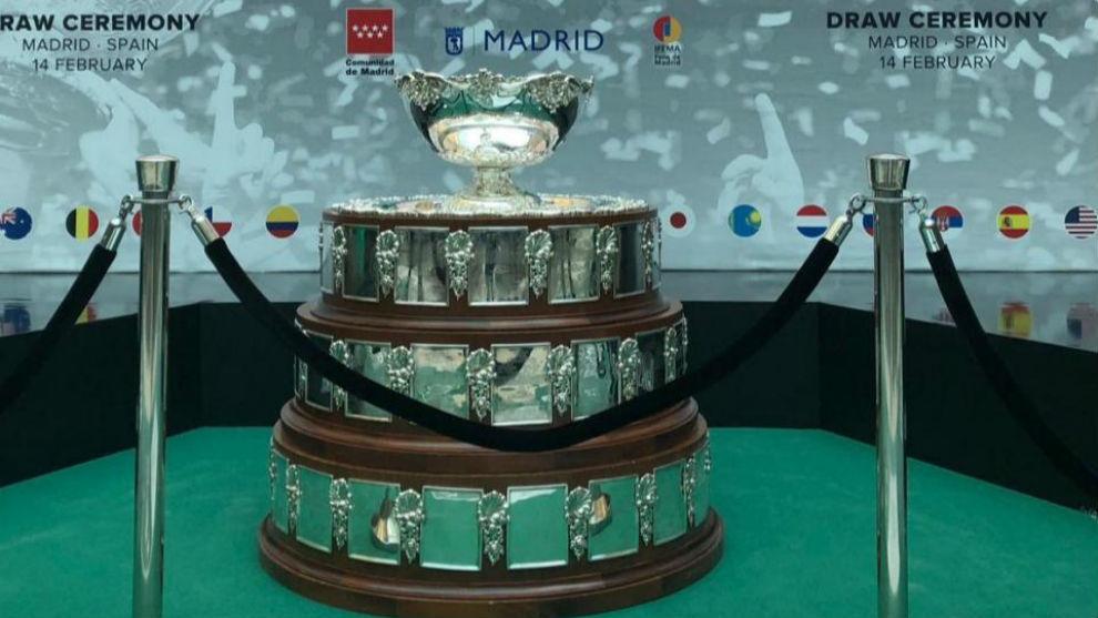 La Ensaladera, presente en el sorteo de las Finales de la Copa Davis