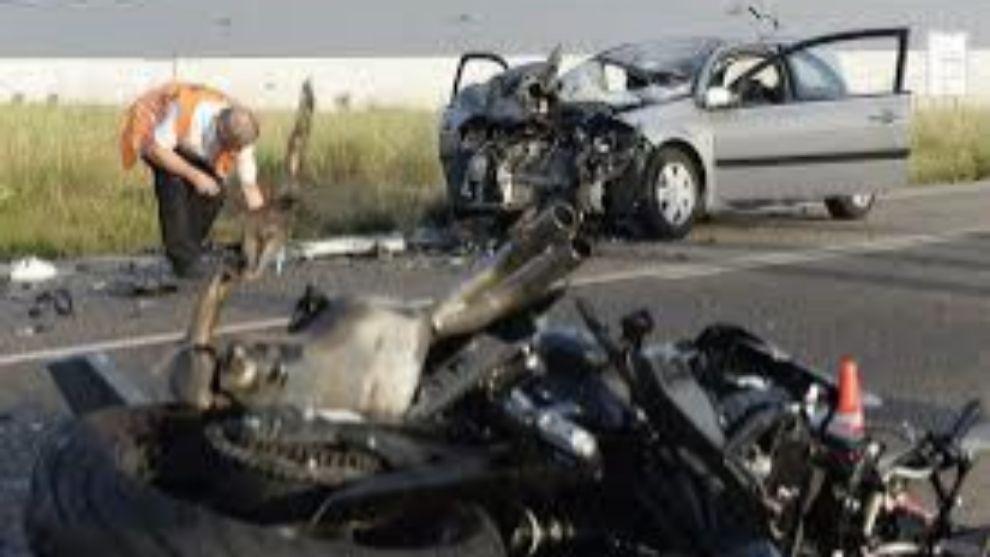después de la erección del accidente de motor 9 5