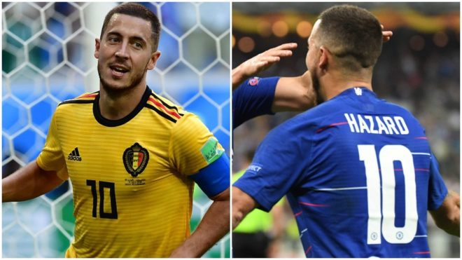 Hazard: Thibaut Courtois drops Twitter hint that Real Madrid deal is close