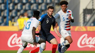 Triunfazo de EE.UU ante Francia en los octavos del Mundial