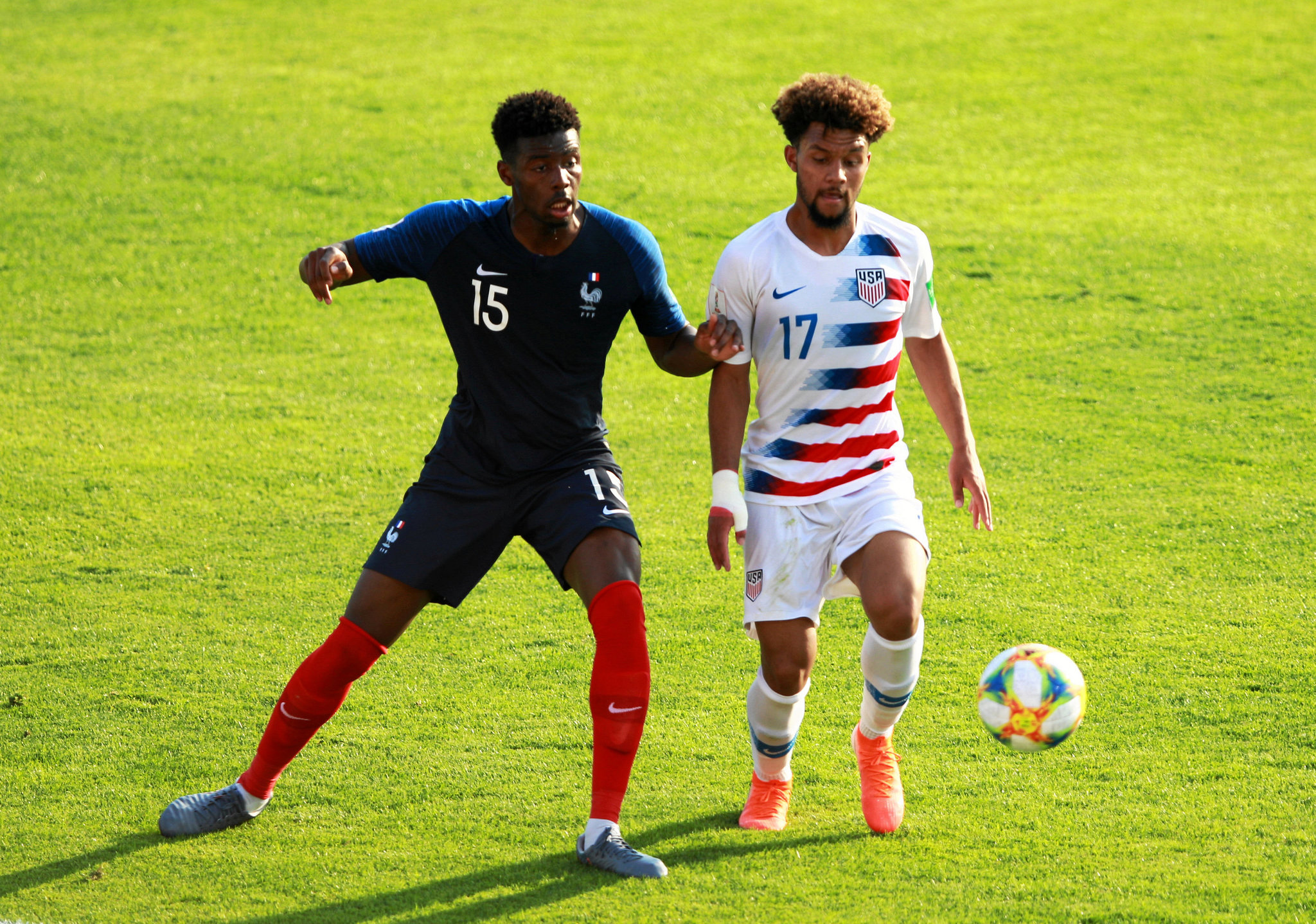 Estados Unidos sorprende en octavos del Mundial Sub-20