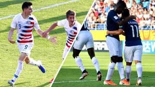 Estados Unidos y Ecuador dieron dos de las sorpresas en octavos.
