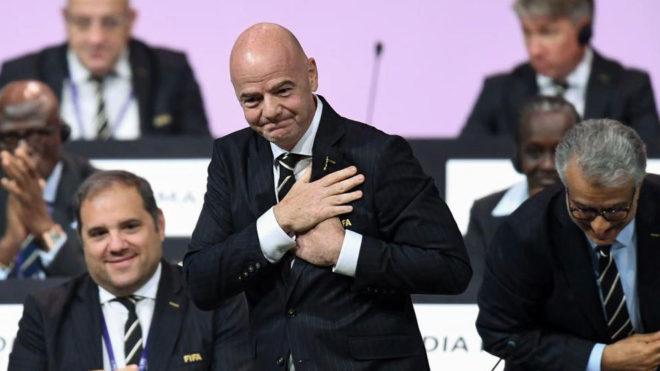 Gianni Infantino, reelegido presidente de la FIFA hasta 2023   Marca.com