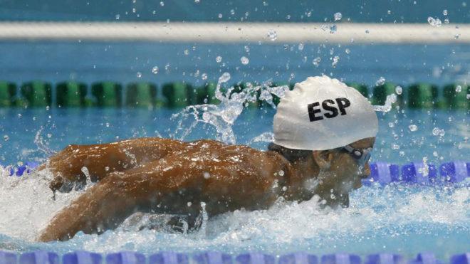 Enhamed, en los Juegos de Londres 2012.