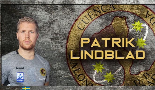 Cartel del fichaje de Lindblad por el Cuenca /