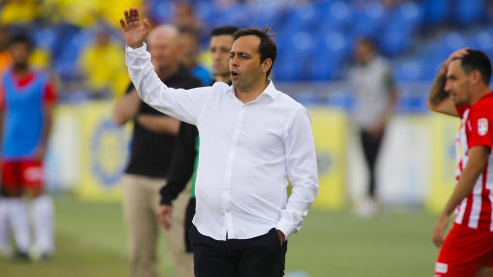 Fran Fernádez, entrenador del Almería