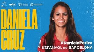 Daniela Cruz, nueva jugadora del Espanyol