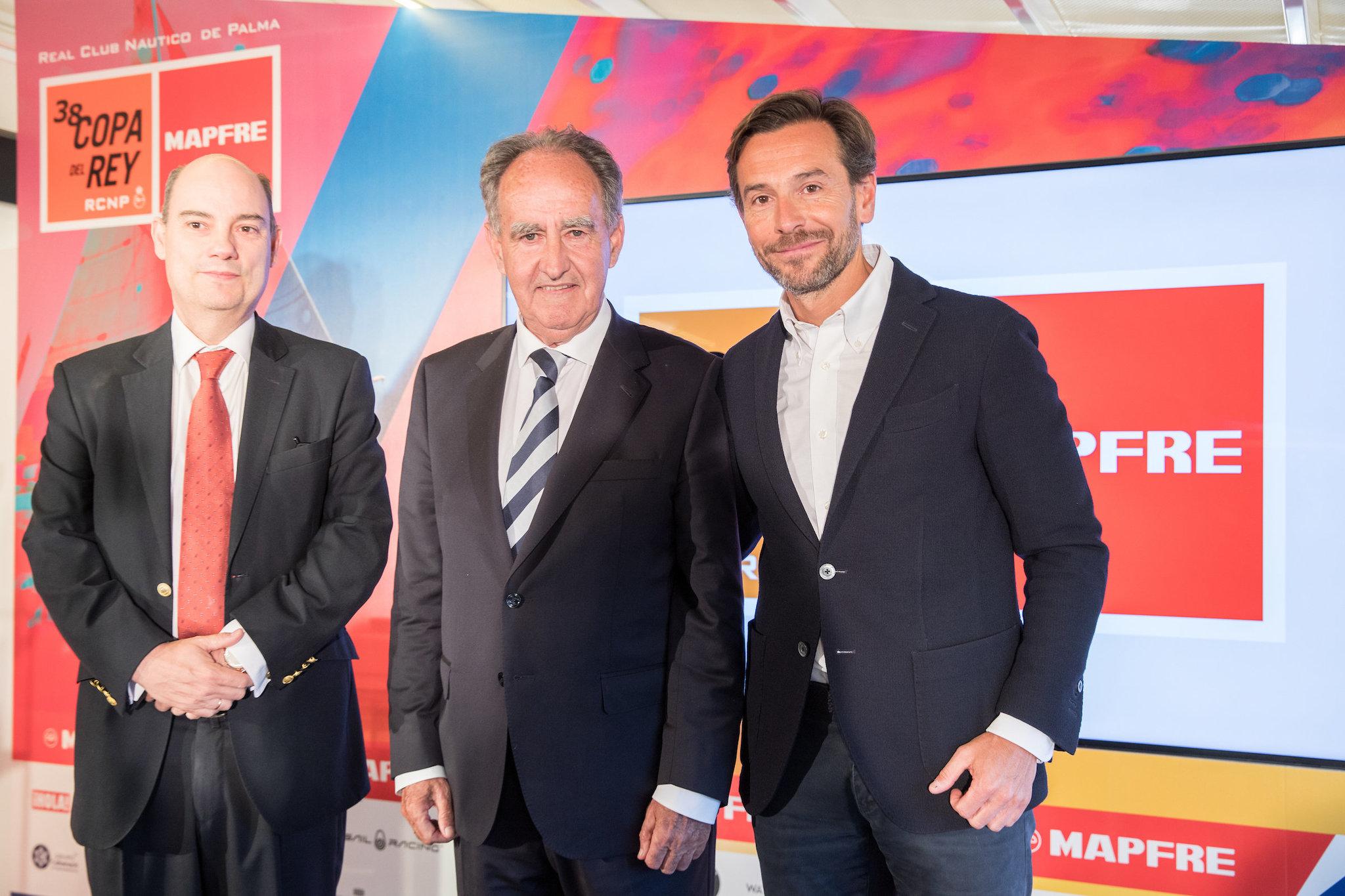 José Manuel Inchausti, Javier Sanz y Manuel Terrobas.