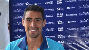 Patricio Araujo en su etapa con el Puebla