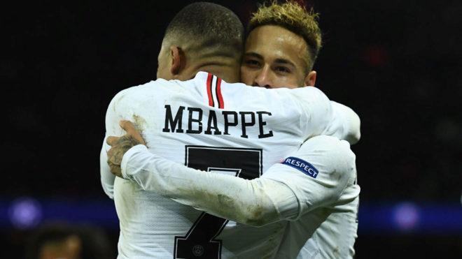 Resultado de imagen para mbappe neymar