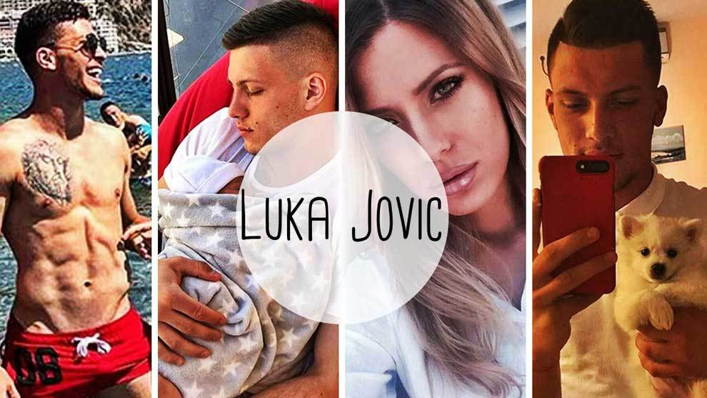 Real Madrids new signing Luka Jovic shares moments of his private...