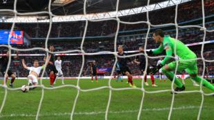 El delantero de Inglaterra Harry Kane ha marcado gol en los últimos...