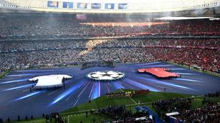 Aspecto del Wanda Metropolitano antes de empezar la final de Champions