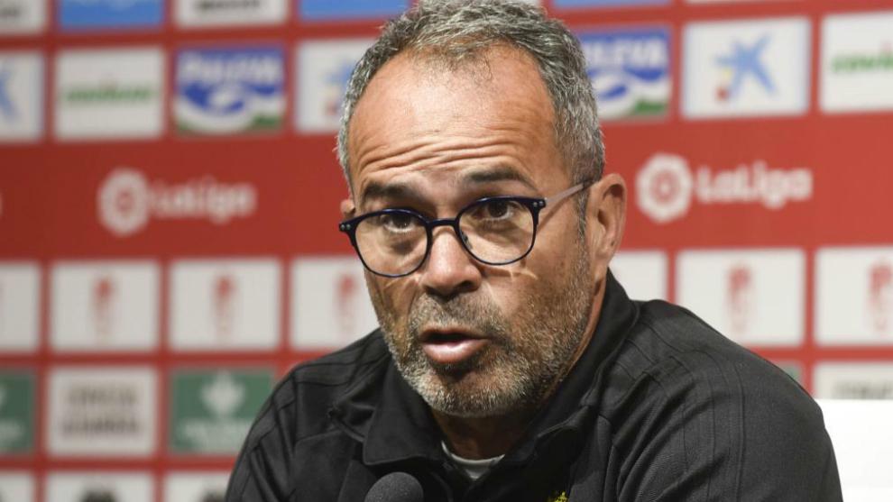 Cervera, entrenador del Cádiz.