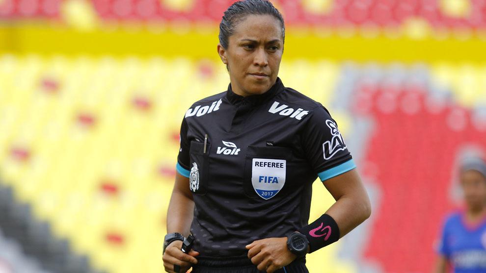 Lucila Venegas en acción