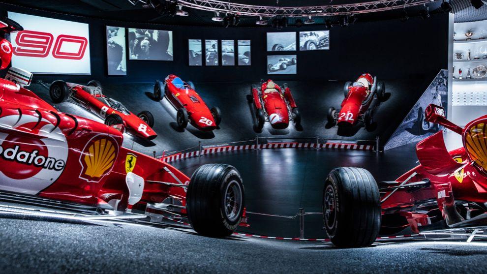 Exposición Ferrari 90 Years