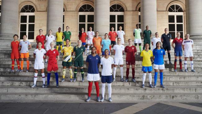 Representantes de las selecciones participantes en el Mundial que...