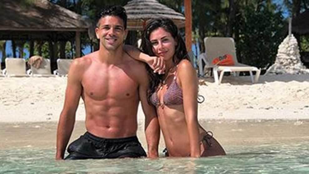 Gio Simeone, hijo de Diego Pablo Simeone (Atlético de Madrid) y...