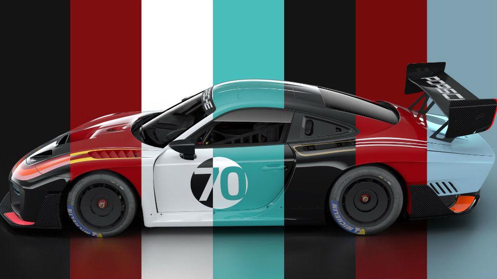 El Porsche 935 fue diseñado para la competición.