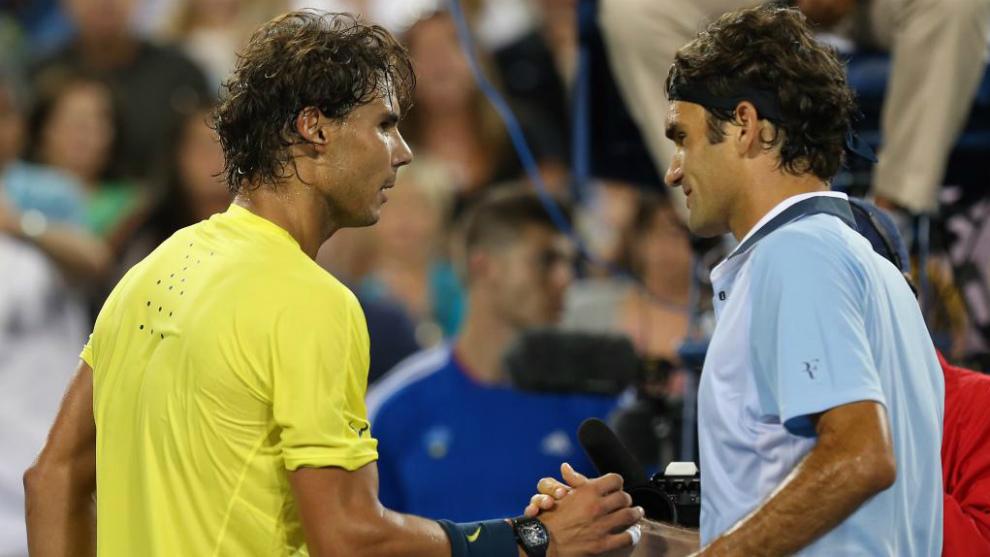 Rafa Nadal - Roger Federer, en directo las semifinales