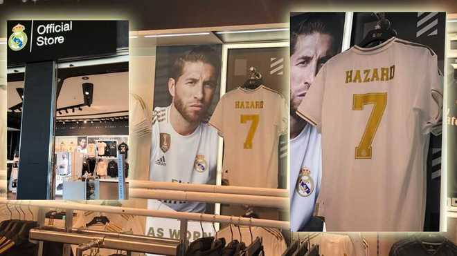 new product 661b0 c8071 Real Madrid: Real Madrid store at Barcelona airport already ...