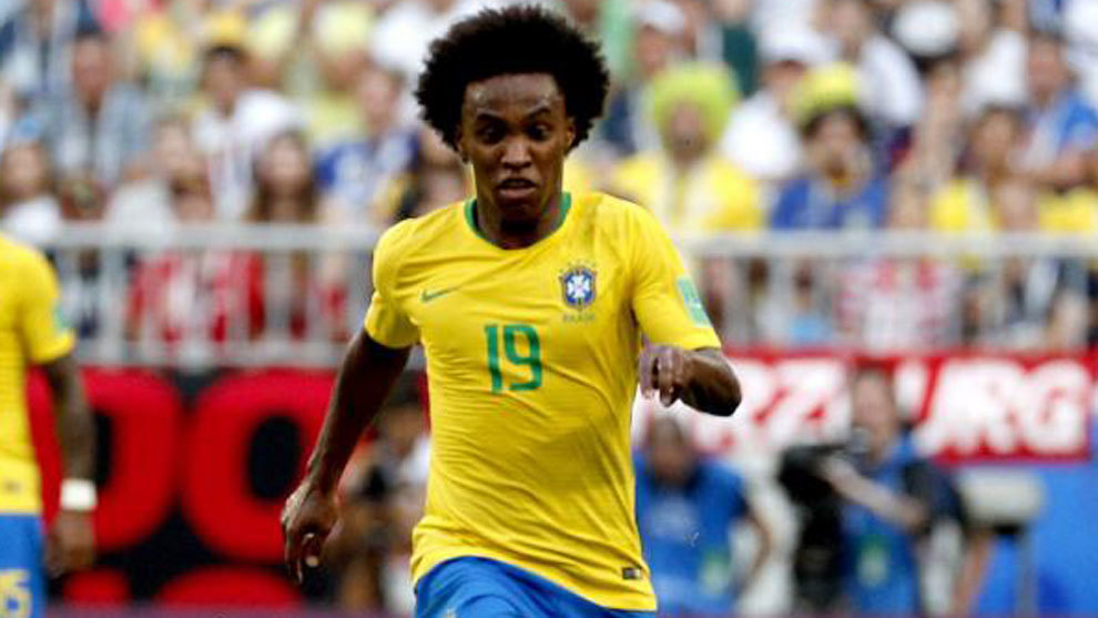 Willian has played 65 times for his country.