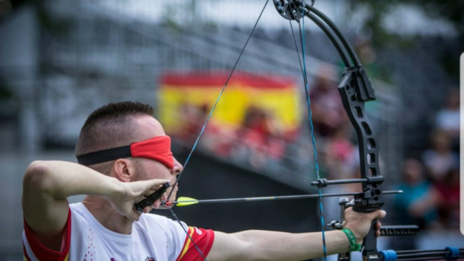 Daniel Martín durante la competición.
