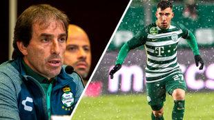 Santos ya tiene a Fernando Corriarán.
