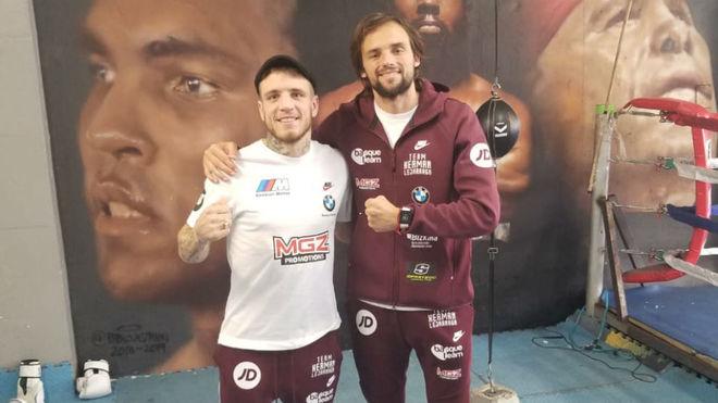 Kerman Lejarraga y Matías Erbín.