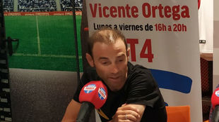 Alejandro Valverde, durante su entrevista en Radio MARCA este viernes.