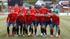 Once titular de España en el partido ante Islas Feroe.