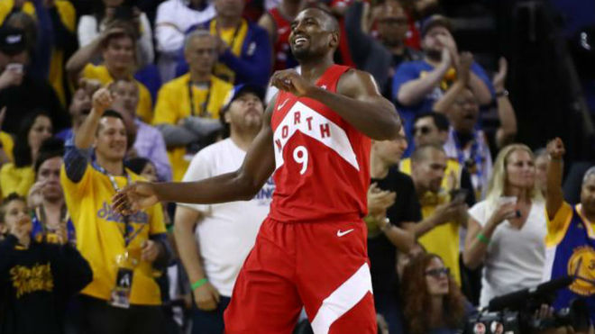 NBA: Dan Raptors mordida casi letal a Warriors en la Aracle Orena | Video