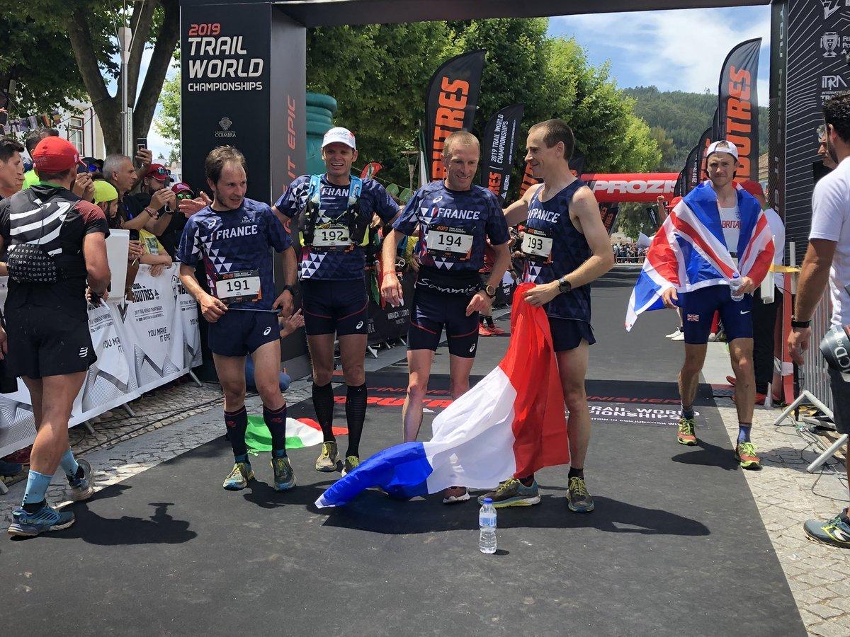 Francia, oro por equipos.