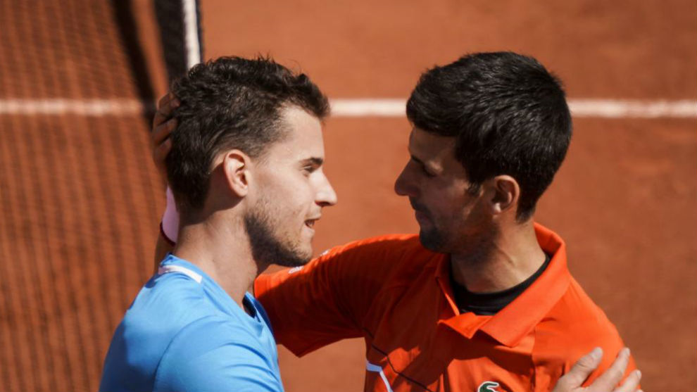 Thiem and Djokovic