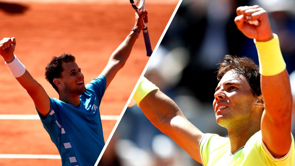 Rafael Nadal vs Dominic Thiem, horario y dónde ver