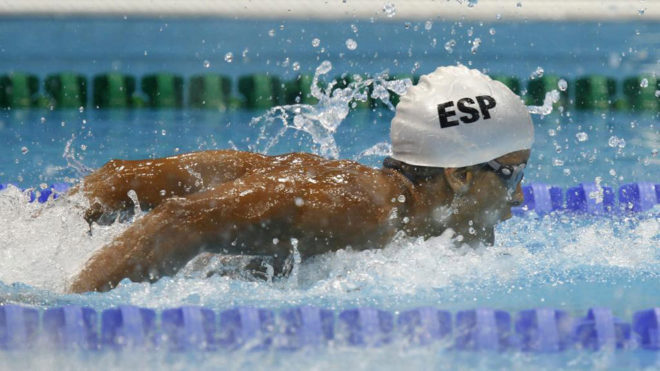 Enhamed Enhamed, en los Juegos Paralímpicos de Londres 2012.