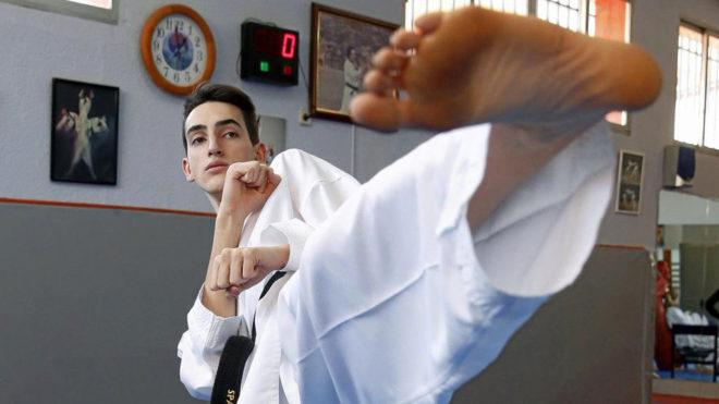Jesús Tortosa posa para MARCA en un entrenamiento.