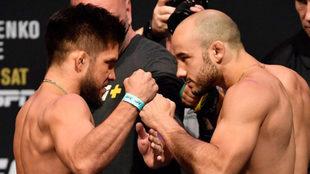 El mexicano superó a Marlon Moraes en tres rounds