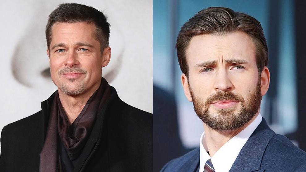 Brad Pitt y Chris Evans estallan contra la 'Marcha del Orgullo Heterosexual'