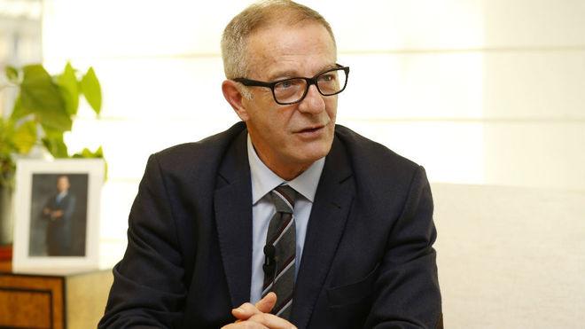 José Guirao, en una entrevista