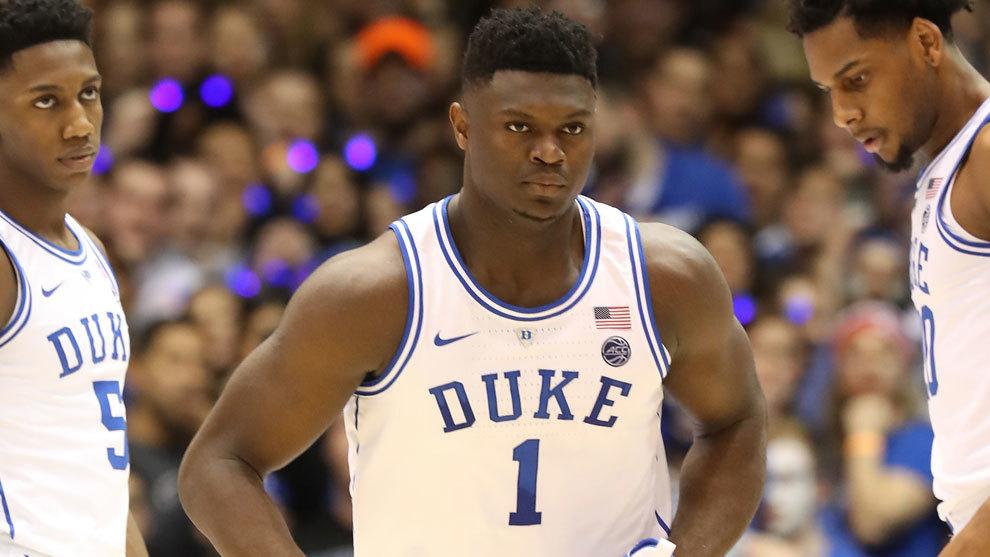 Zion Williamson, el número 1 de Duke